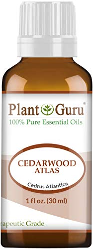 Virginiana Essential Oil - Cedarwood (Atlas) Essential Oil 1 oz / 30 ml 100% Pure Undiluted Therapeutic Grade for Skin, Body and Hair Growth. Great for Aromatherapy Diffuser and DIY Soap Making