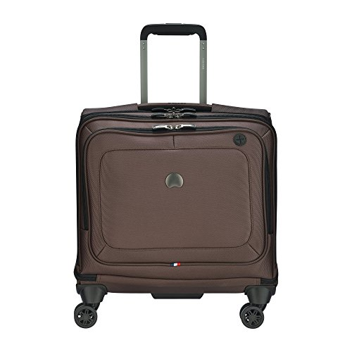 Delsey Luggage Cruise Soft Spinner Trolley Garment Bag, Mocha by DELSEY Paris