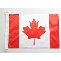 Canada NAUTICAL Vlag 45x30 cm - Canadese vlaggen 30 x 45 cm - Banner 12x18 in voor boot - AZ FLAG