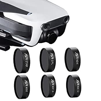 [DJI Mavic Air Lens Filter] 6Pcs/Set ND4 ND8 ND16 ND32 STAR CPL Waterproof Camera Lens Filter