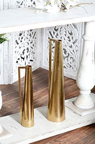 Deco 79 57420 Metal Vase