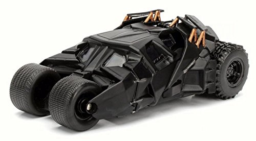 JADA 1:32 W/B Metals the Dark Knight Batmobile Die Cast Car (Batman Dark Knight Toy)