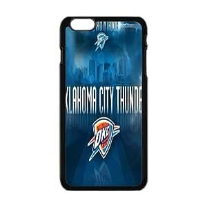 Oklahoma City Thunder NBA Black Phone Case for iPhone plus 6 Case