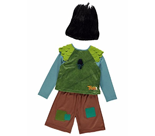 New Disney George Trolls Branch Fancy Dress Costume Outfit with Sound [7-8] by George