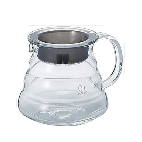 Molinter – Cafetera de émbolo Manual con Filtro de Acero Inoxidable para preparación de café, 360ML