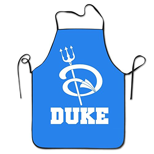 LH NCAA Duke Blue Devils Logo.jpg Bib Apron Chef Apron Cooking Apron Professional Apron For Cooking,Grill And Baking (28''x20'') Duke Blue Devils Apron