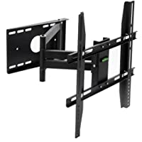 Lumsing 14-45 Inch Full Motion Articulating Tilt Swivel TV Wall Mount Bracket for TV LED LCD Plasma Flat Screen Monitor VESA 400x400mm