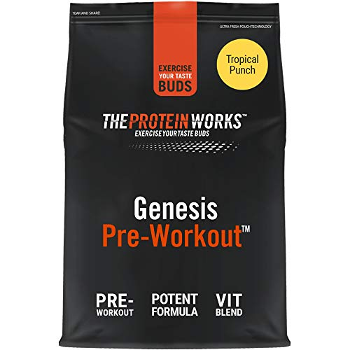 THE PROTEIN WORKS Genesis Pre Workout Powder | Explosive Supplement | Beta Alanine, Caffeine | Added B Vitamins…