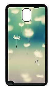 Autumn Dandelion Custom Designer Samsung Galaxy Note 3 / Note III/ N9000 - TPU - Black