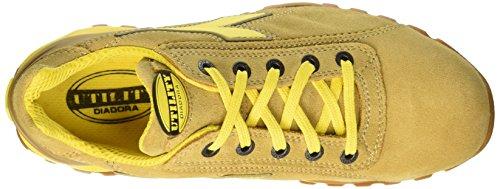 Diadora Glove Ii Low S1P Hro Sra - Calzado de protección Unisex adulto Amarillo (Cammello)