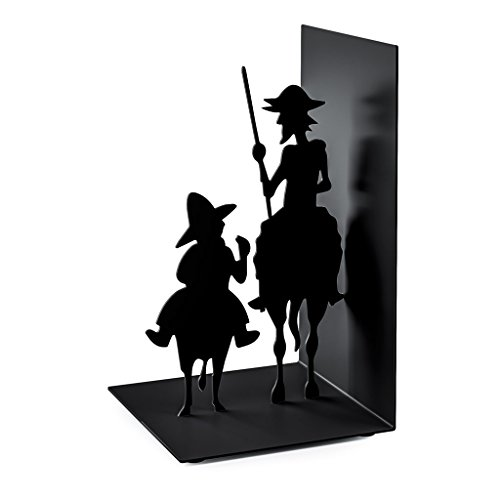 Balvi - Don Quijote Metal bookend. Inspired by The Work of Cervantes.