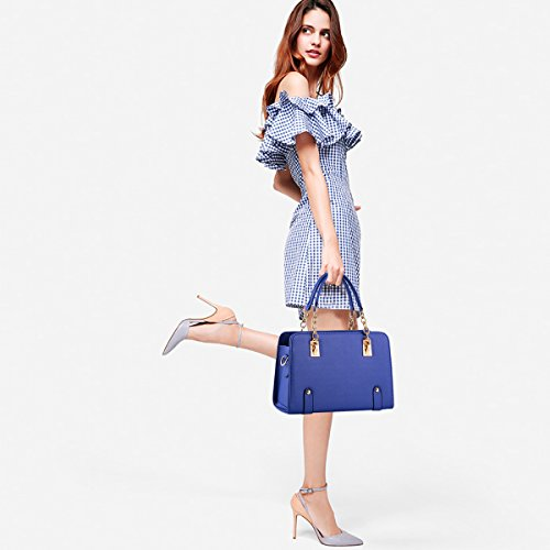 NICOLE bag chain purse Blue new bag women amp;DORIS Navy shoulder fashion messenger aOTwqRxfa