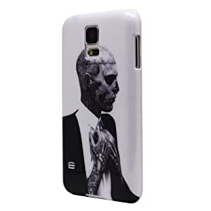 Zixia shop Face Off Skull Shield Back Skin Case Cover Protector For Samsung Galaxy S5