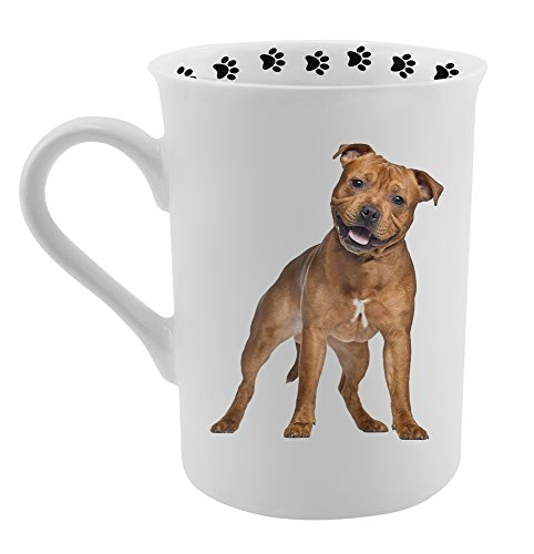 Bull Terrier Mug (Dimension 9 Pitbull Terrier Coffee Mug, White)