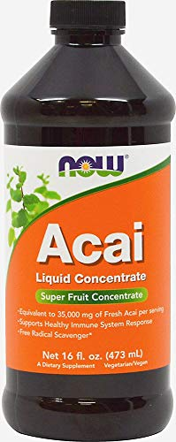 NOW Foods Acai Superfruit Liquid Concentrate-16 - Concentrate Acai Juice