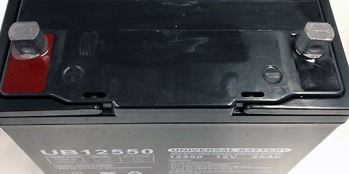 UB12550 12V 55Ah Replacement Pride Maxima SLA AGM Battery - 2 Pack