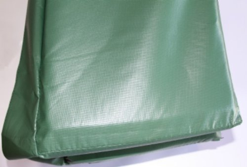 Trampolines USA - 15' Round Trampoline USA - Deluxe Frame Pad Hunter Green by Trampolines USA, Inc. (Image #2)