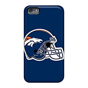 Apple Iphone 6 WTa2560uNuS Custom Colorful Denver Broncos 2 Image Shock-Absorbing Cell-phone Hard Cover -casesbest88