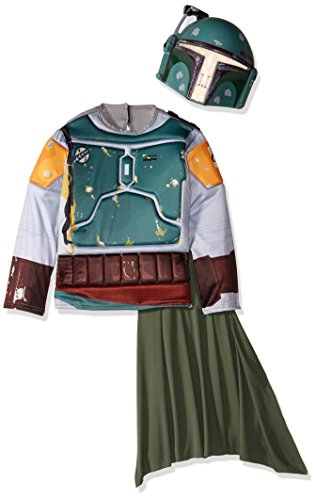 Imagine by Rubies Star Wars Classic Boba Fett Muscle Chest Shirt Boxed Set, Size -