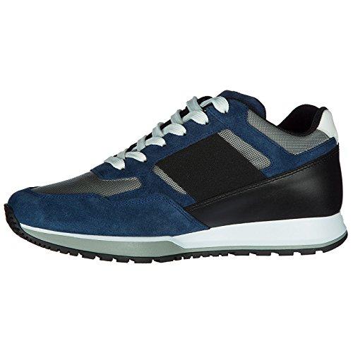 Mejor Tienda En Línea Para Obtener Hogan Scarpe Sneakers Uomo Camoscio Nuove h321 H Blu La Venta En Línea Barata Tienda De Venta pC1Ea5
