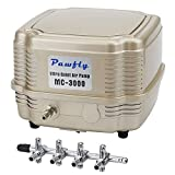 Pawfly 7 W 254 GPH Commercial Air Pump 4 Outlets
