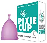 (Large) Ranked 1 for Most Comfortable Menstrual Cup and Better Removal Stem Than