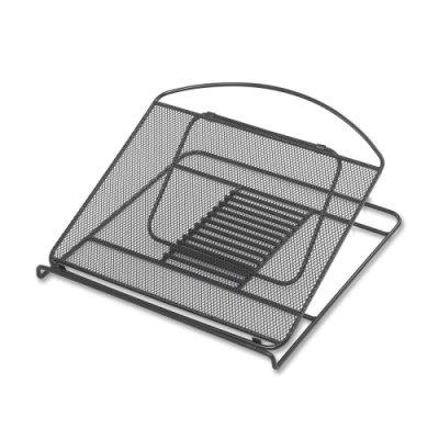Onyx Adjustable Steel Mesh Laptop Stand, 12 1/4 x 12 1/4 x 1, ()