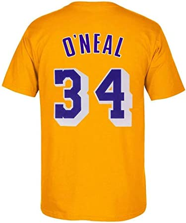Amazon.com: Outerstuff Shillle ONeal Los Angeles Lakers #34 ...