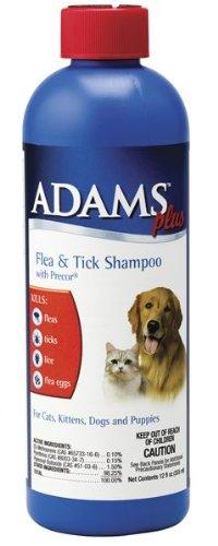 Adams Plus Flea and Tick Shampoo with Precor, 12-ounce, My Pet Supplies