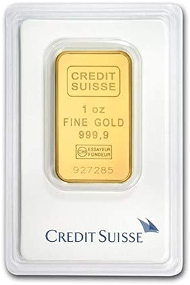 Amazon Com 1 Oz Gold Bar Credit Suisse In Assay Jewelry