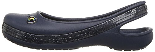 Pictures of Crocs Kids' Genna II Sparkle Flat US 5