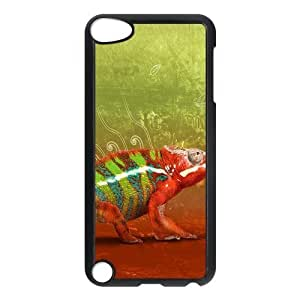 Custom Chameleon,Lizard Design Plastic Case Protector For Ipod Touch 5 5th Generation