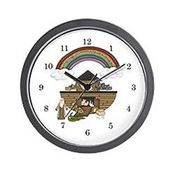 CafePress Noah's Ark Kids Wall Clock Unique Decorative 10 Wall Clock