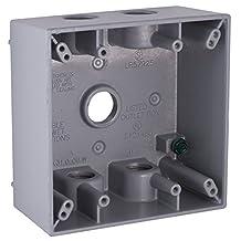 Raco 5337-5 Two Gang Weatherproof Box