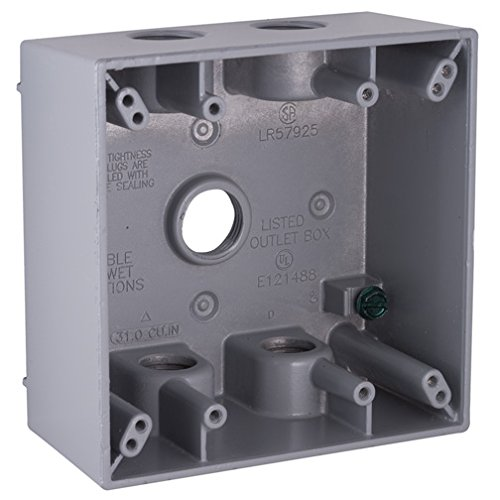 Bell Outdoor 5337-5 Two Gang Weatherproof Box