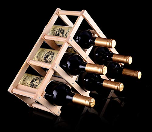 (TURMZPY Family Established Wine Rack Popular Renaissance Home Decor )