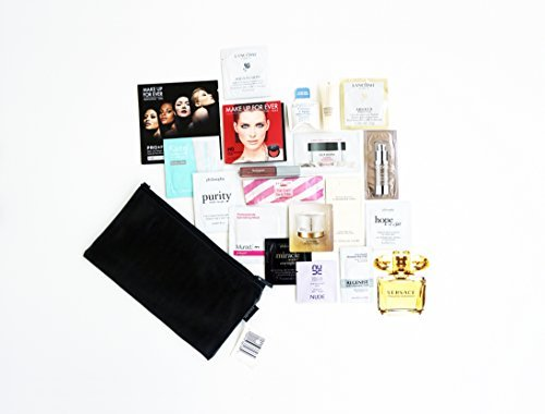 Sephora Skincare Travel sample size Collection with Signature makeup bag (Sephora Brand Skin Care)