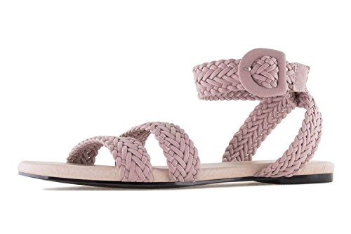 Andres Machado Women's Fashion Sandals Trenzado Rosa cD3zFb