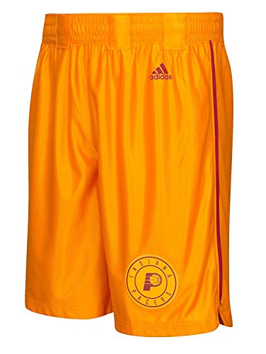 Outerstuff Indiana Pacers NBA Youth Hardwood Classics Swingman Shorts Gold (Youth Large) (Butler Basketball Shorts)