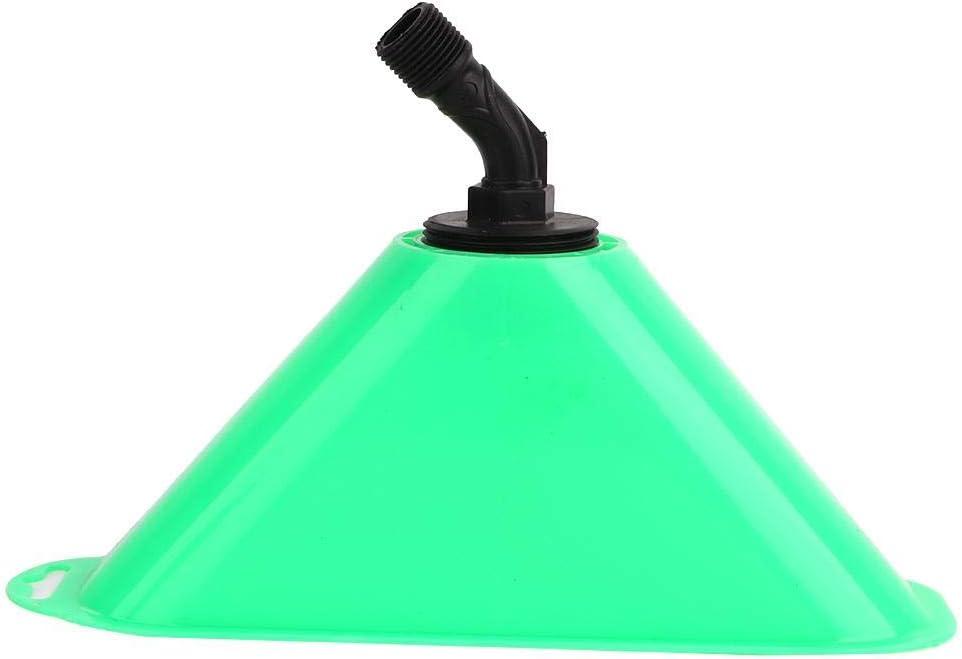 Cafopgrill Sombra a Prueba de Viento para Boquilla Boquilla de pulverización de Trompeta Boquilla de Campana Resistente al Viento Accesorio de pulverizador de Sombra