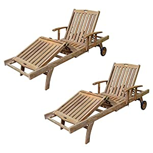 41fq9SHJ6NL._SS300_ Teak Lounge Chairs & Teak Chaise Lounges