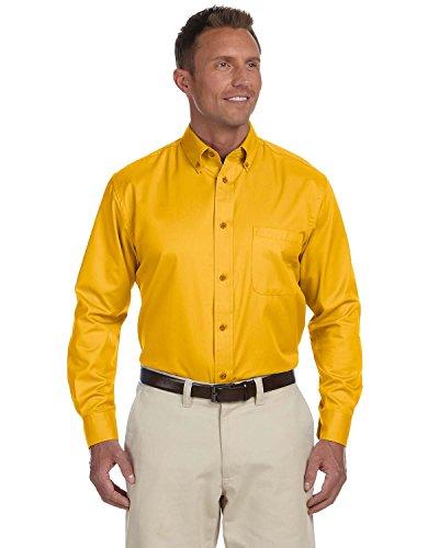 Harriton Men's Long-sleeve Twill Dress (Halloween Fashion Story)
