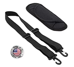 682033e49e87 Made In USA Black Poly Webbing Replacement Travel Luggage Bag ...