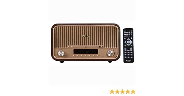 SANSUI Bluetooth CD System Stereo SMS-820BT + AC100V ~ AC240V (50/60 Hz) ⇒  AC 100V / 200W (50/60 Hz) Transformer【Japan Domestic Genuine Products】