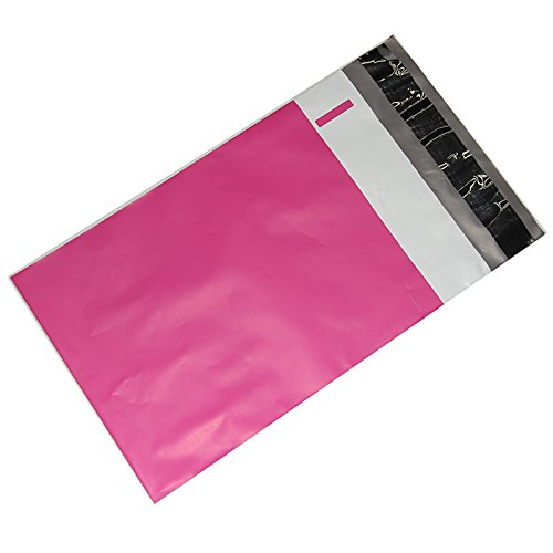 500 10x13 Hot LipStick Pink Designer Poly Mailers Shipping Envelopes Bags