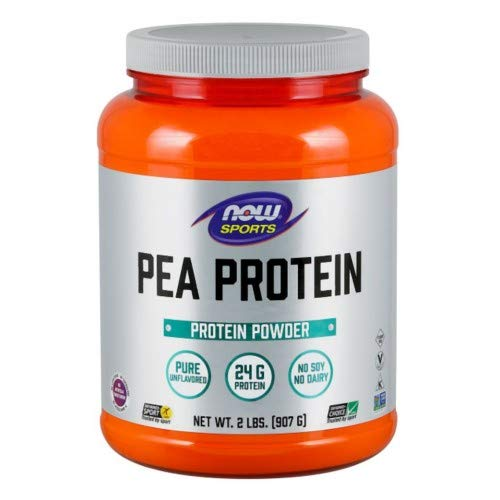 Pea Protein, 2 lbs by Now Foods (Pack of 6)