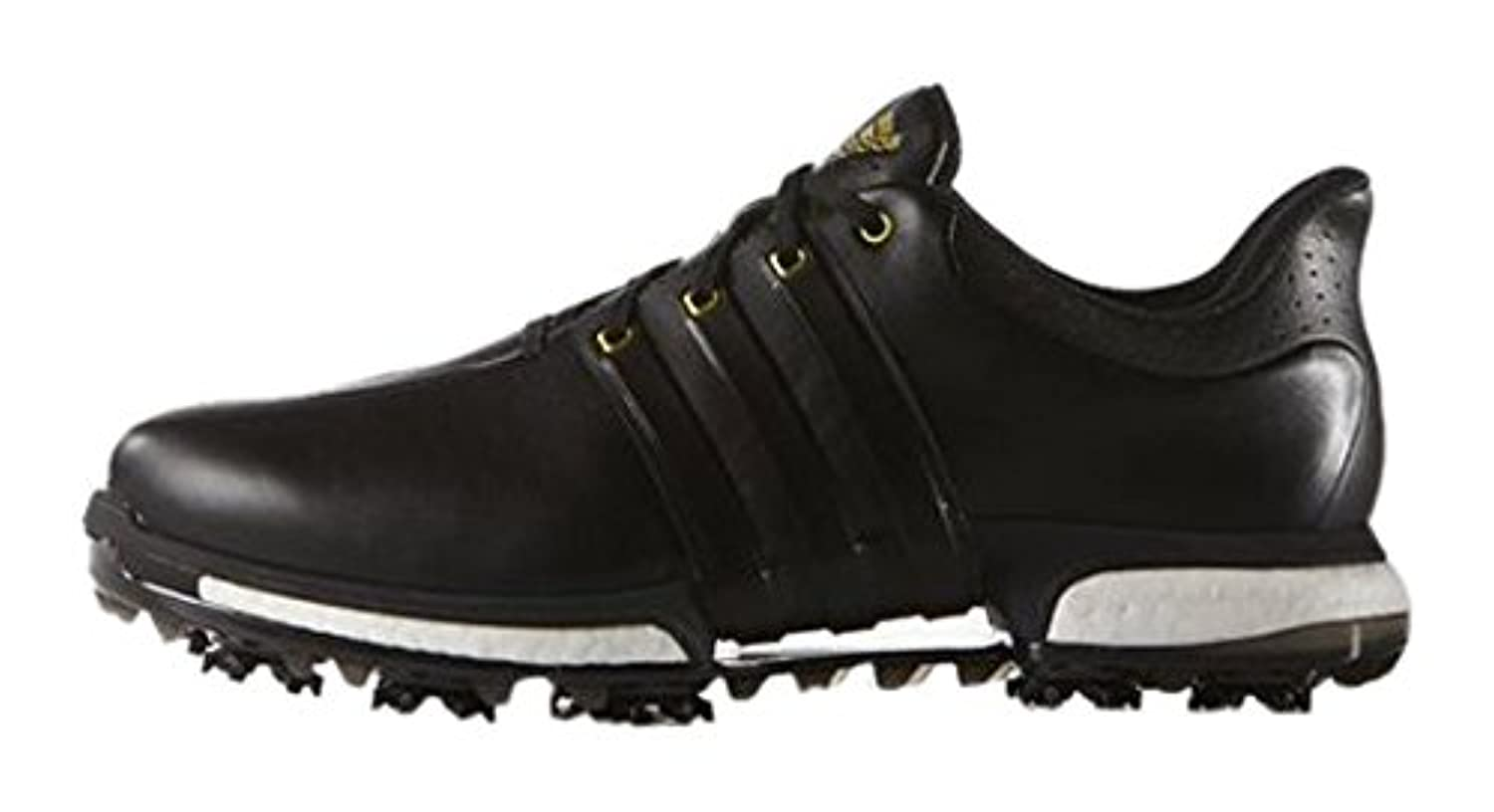 Adidas Tour 360 Boost Wd, Men Golf Shoes, White (White/Flash Pink /Mineral Blue), 7 UK (40 2/3 EU)