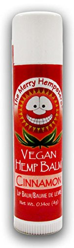 Merry Hempsters Vegan Hemp Lip Balm Cinnamon 0.14 Oz.