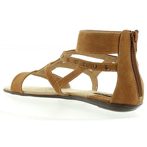 C24710 53535 FROZEN MTNG Sandalias de CUERO Mujer xOq4xvw6I
