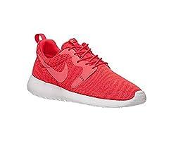 Nike Mens Roshe One Kjcrd Running Shoes Red Size 10